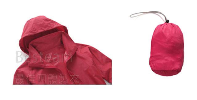 防紫外線不透明風褸配有收納袋