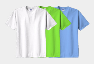 GILDAN男女同款T恤優質布料,實惠價錢