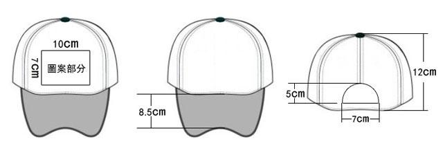 帽子的尺碼信息
