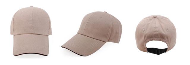 撞色棒球帽
