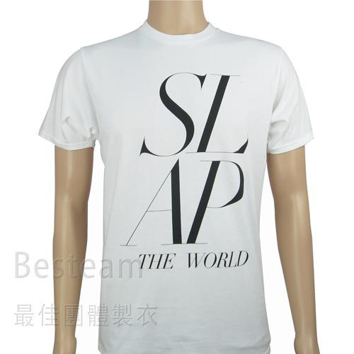 單色絲印T恤