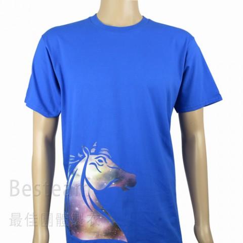 彩色燙印T恤,T恤正面