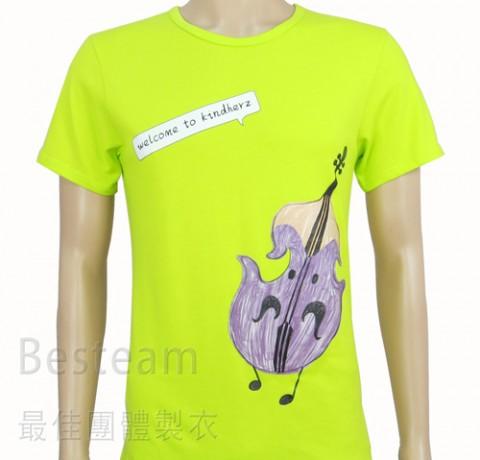 訂製款彩色燙印T恤