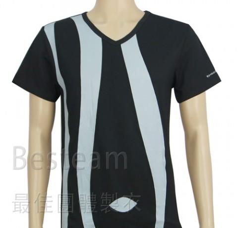 訂製款單色絲印T恤
