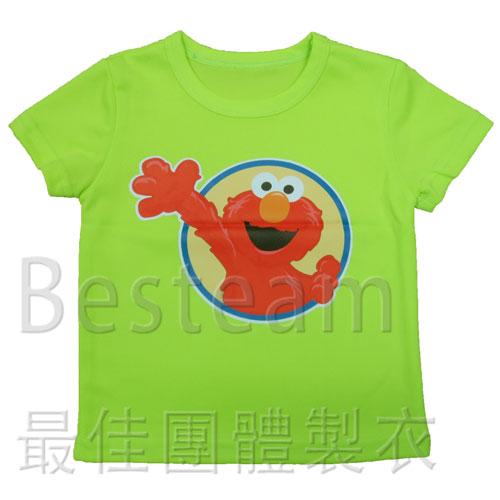 彩色燙印 童裝快乾T恤