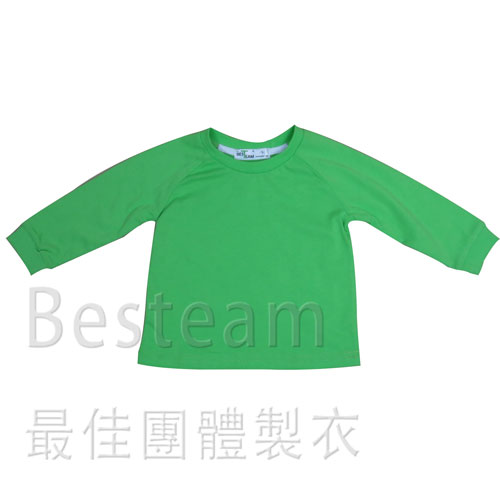 童裝淨色長袖T恤