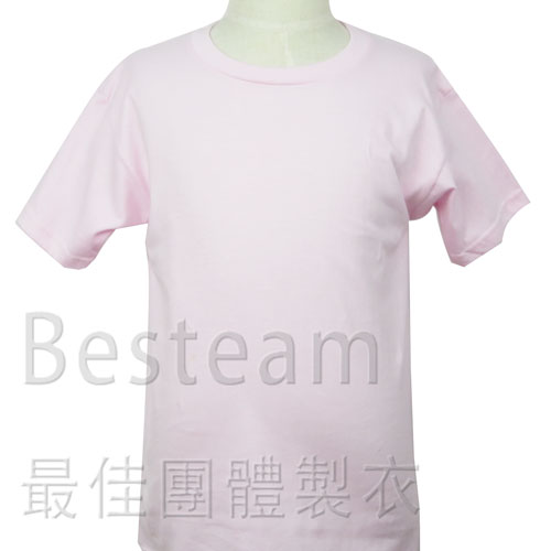 KG7600淨色童裝T恤