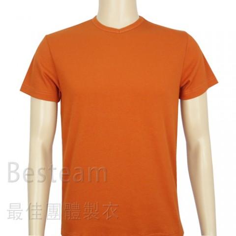 訂製款淨色T恤正面
